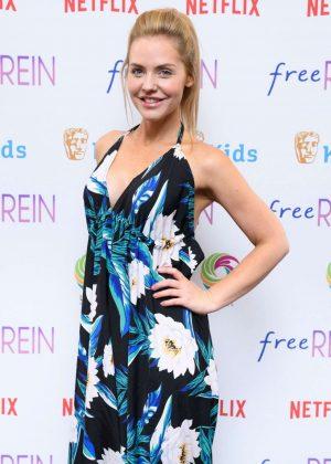 Stephanie Waring - BAFTA Kids 'Free Rein' TV Show Season 2 Preview in London