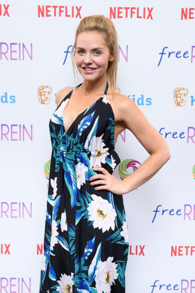 Stephanie Waring – BAFTA Kids 'Free Rein' TV Show Season 2 Preview in London