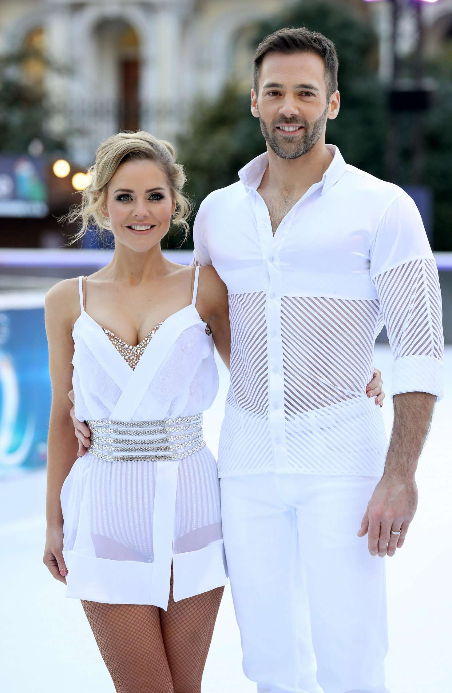 Stephanie Waring - 'Dancing On Ice' Photocall in London