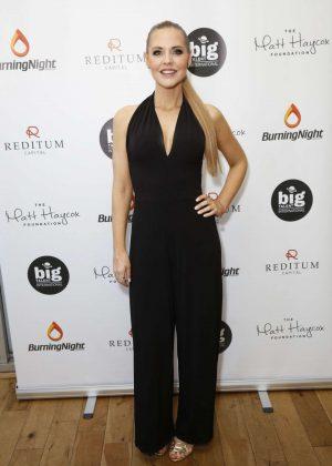Stephanie Waring - Matt Haycox Foundation Launch in London