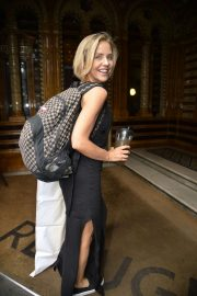 Stephanie Waring - Seen at her hotel ahead of soap awards in Manchester