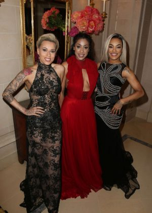 Stooshe - 7th edition of the Global Gift Gala Dinner in Paris