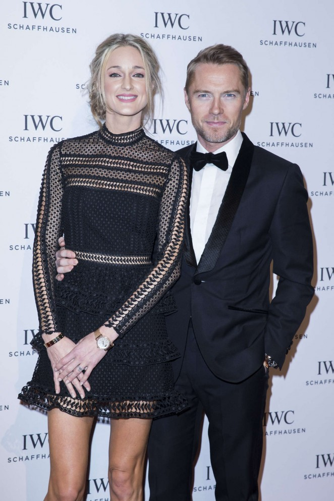 Storm Keating - IWC Gala Dinner Photocall as Part of SIHH in Geneva