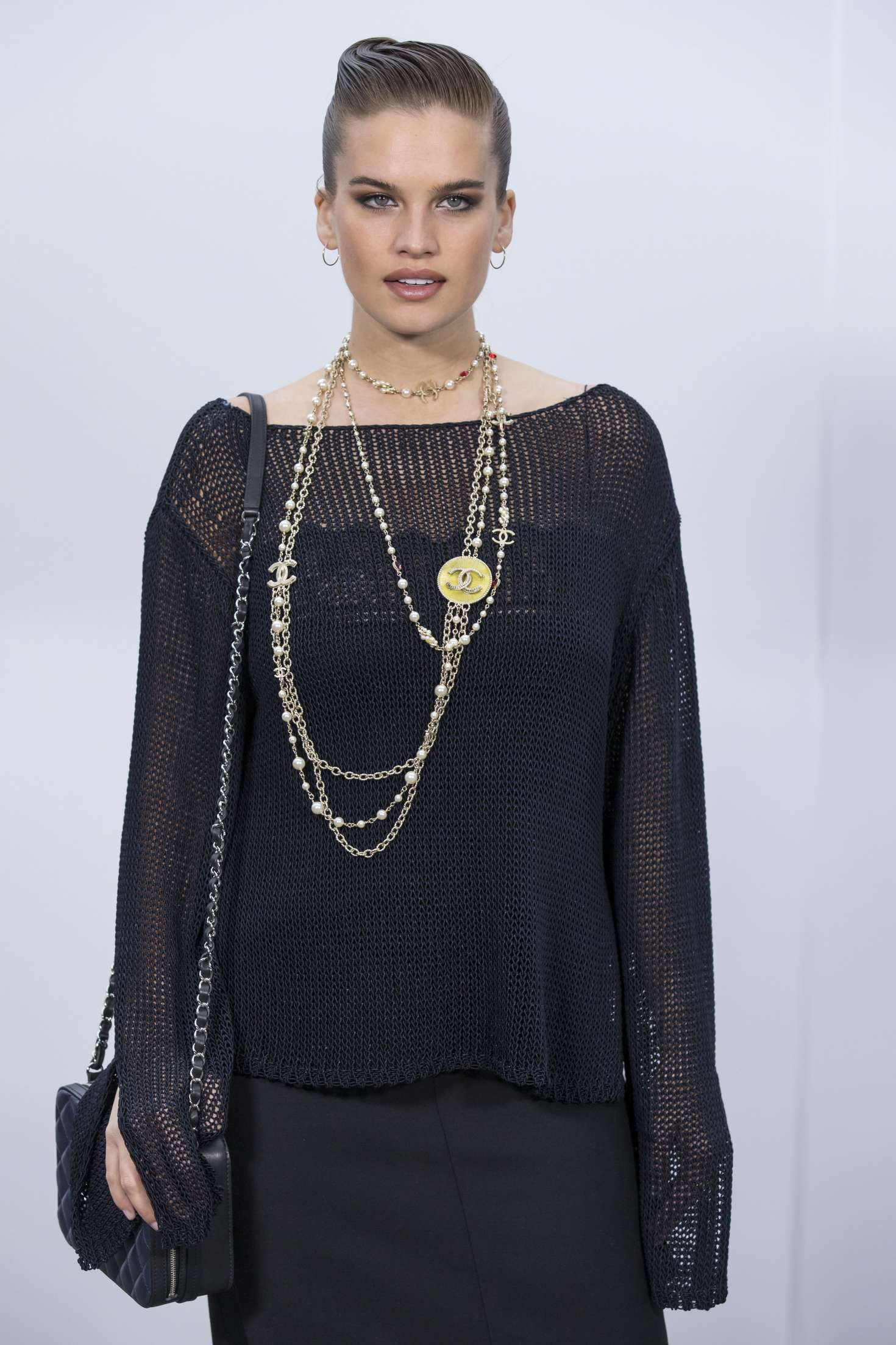 Stormi Henley - Chanel Show at 2017 PFW in Paris Lindsay Lohan