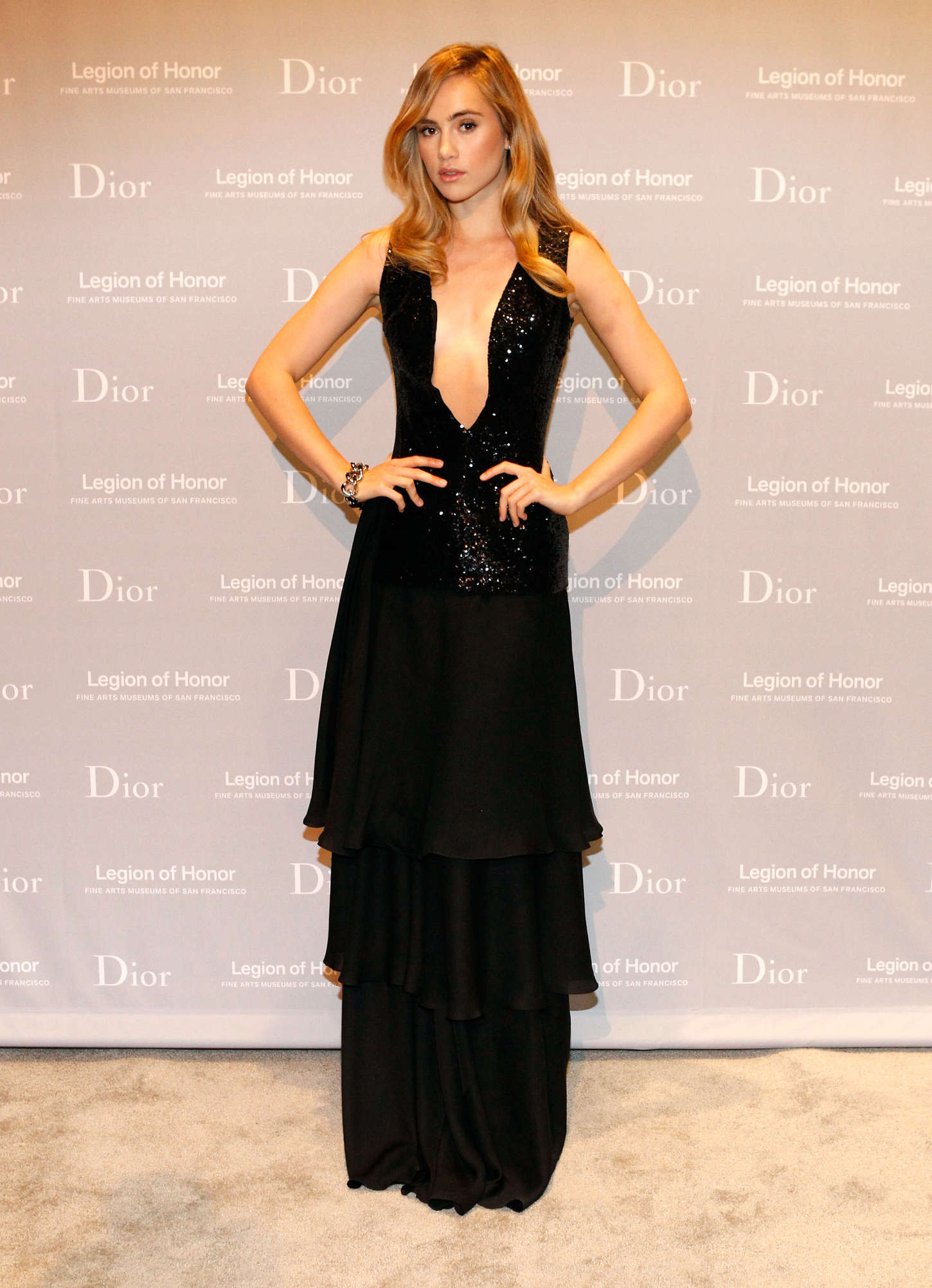 Suki Waterhouse - 2015 Mid-Winter Gala in San Francisco