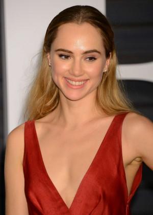 Suki Waterhouse - 2015 Vanity Fair Oscar Party in Hollywood