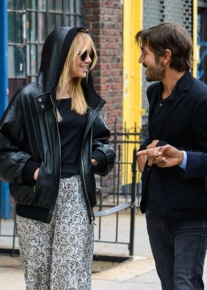 Suki Waterhouse and Diego Luna out in Manhattan