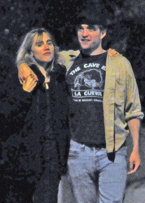 Suki Waterhouse and Robert Pattinson at the Electric Cinema in London