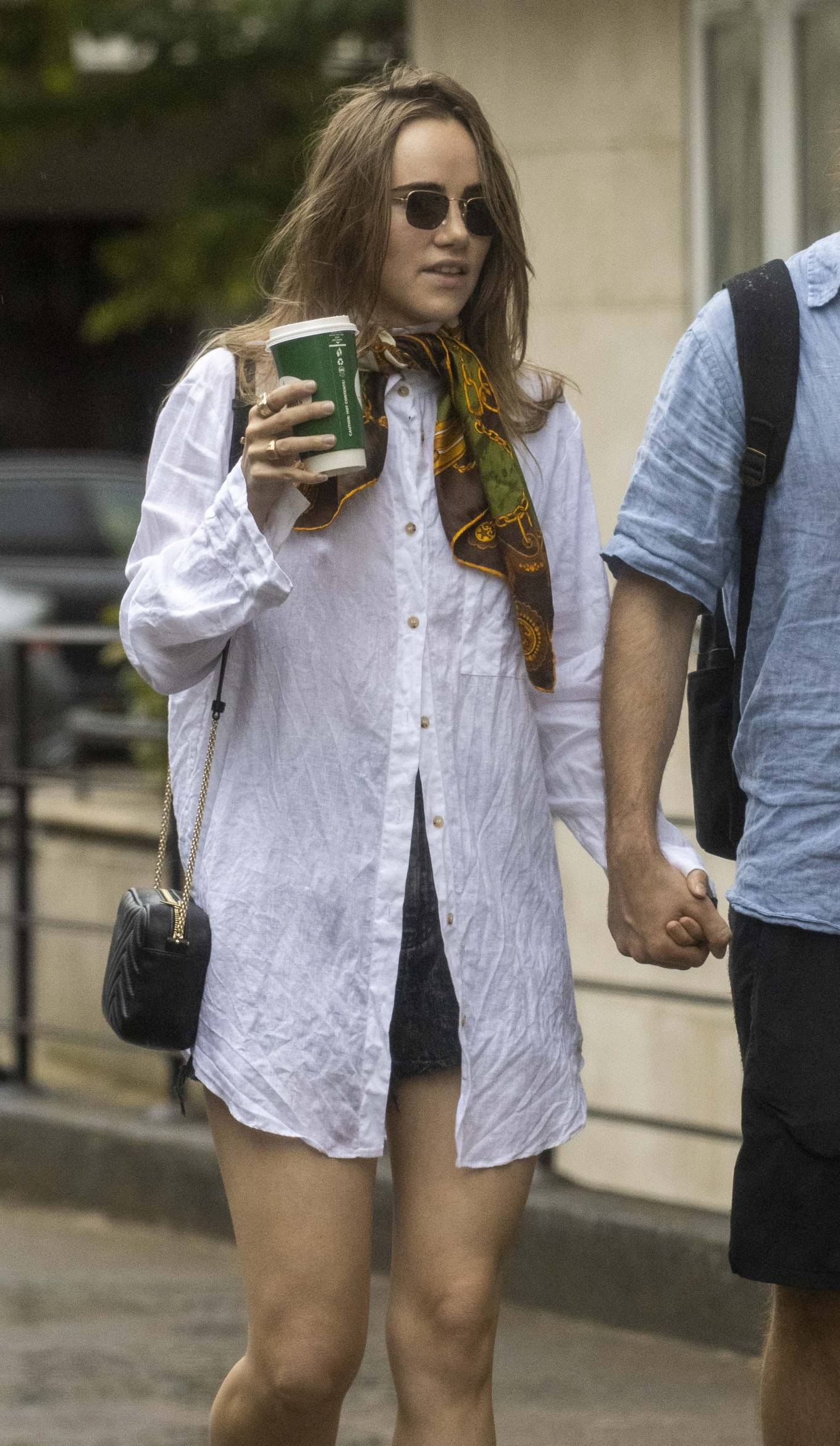 Suki Waterhouse 2020 : Suki Waterhouse and Robert Pattinson – Out in London-03