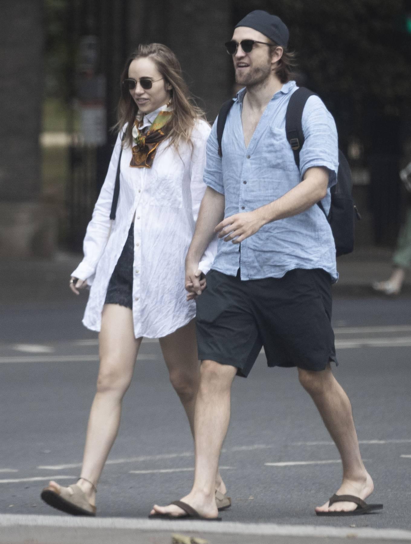 Suki Waterhouse and Robert Pattinson - Out in London