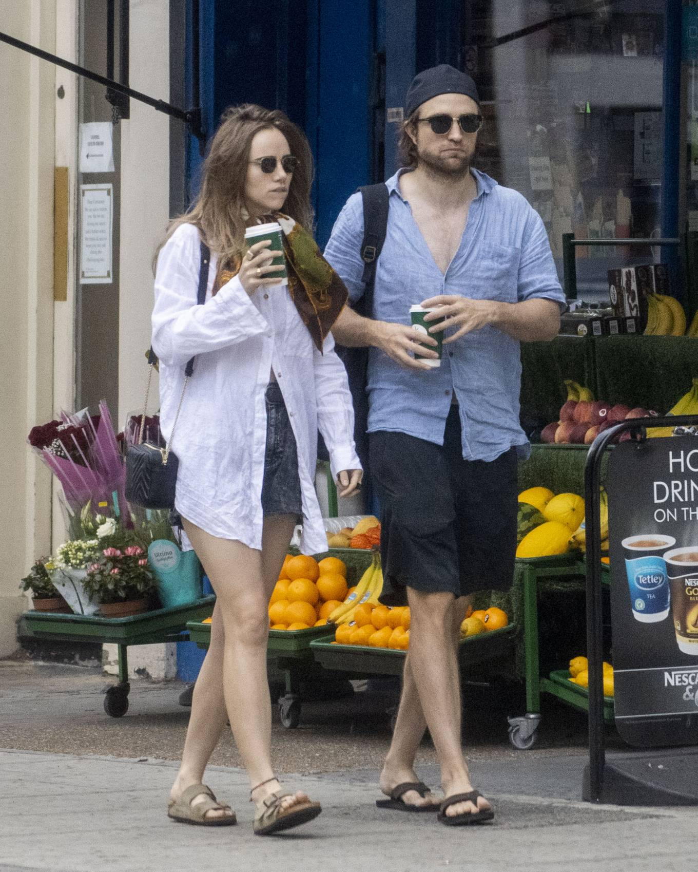 Suki Waterhouse 2020 : Suki Waterhouse and Robert Pattinson – Out in London-16