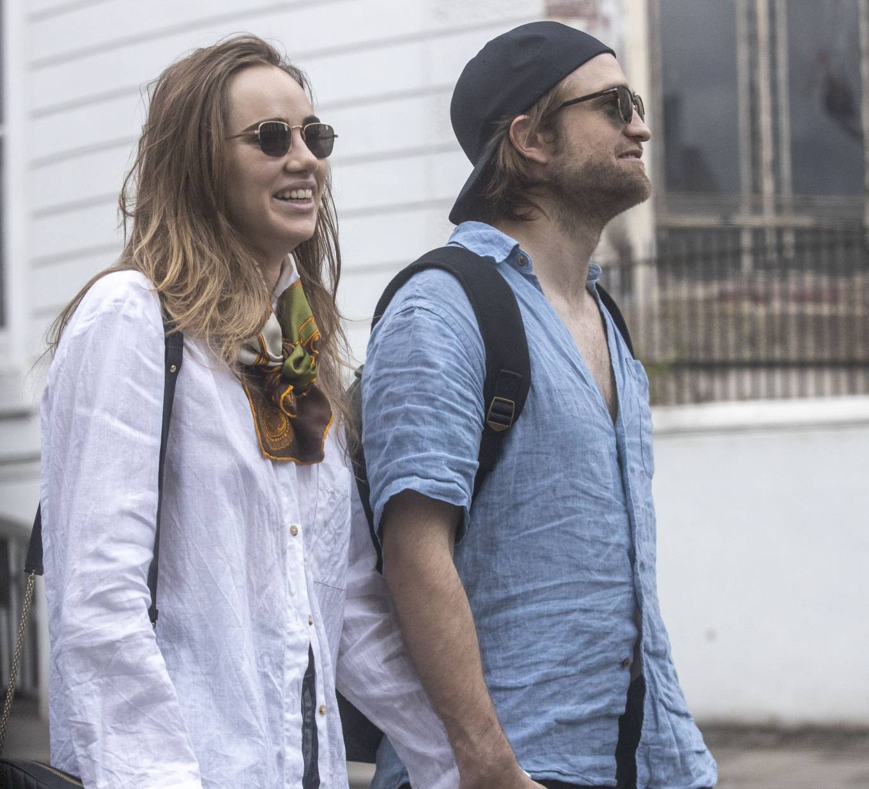 Suki Waterhouse 2020 : Suki Waterhouse and Robert Pattinson – Out in London-22