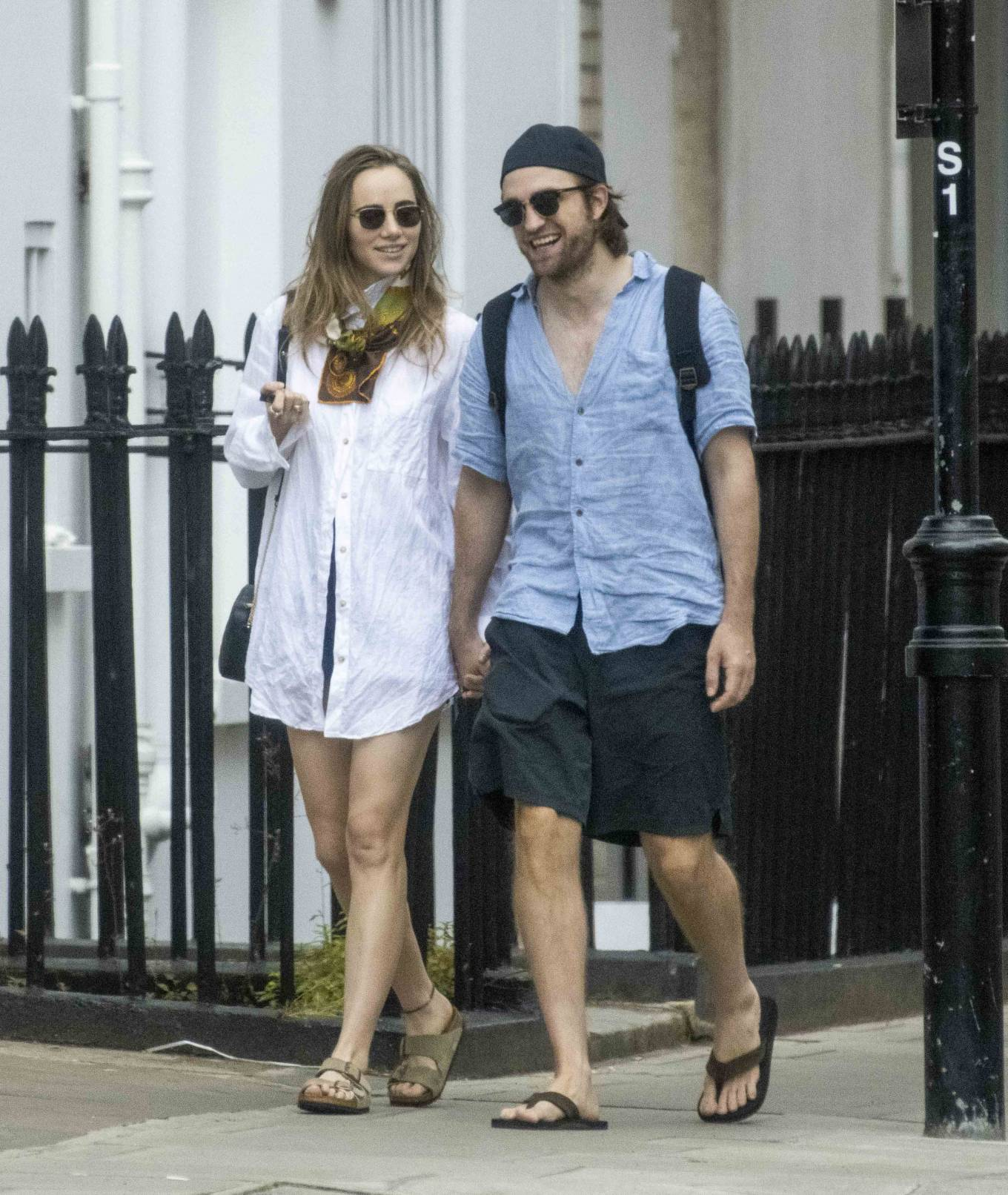 Suki Waterhouse 2020 : Suki Waterhouse and Robert Pattinson – Out in London-26