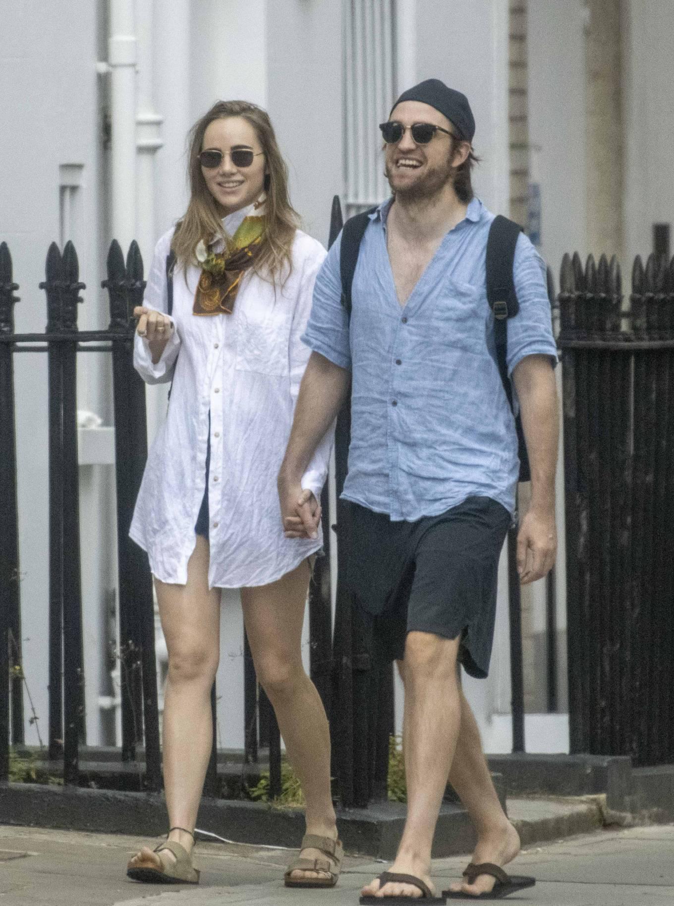 Suki Waterhouse 2020 : Suki Waterhouse and Robert Pattinson – Out in London-28