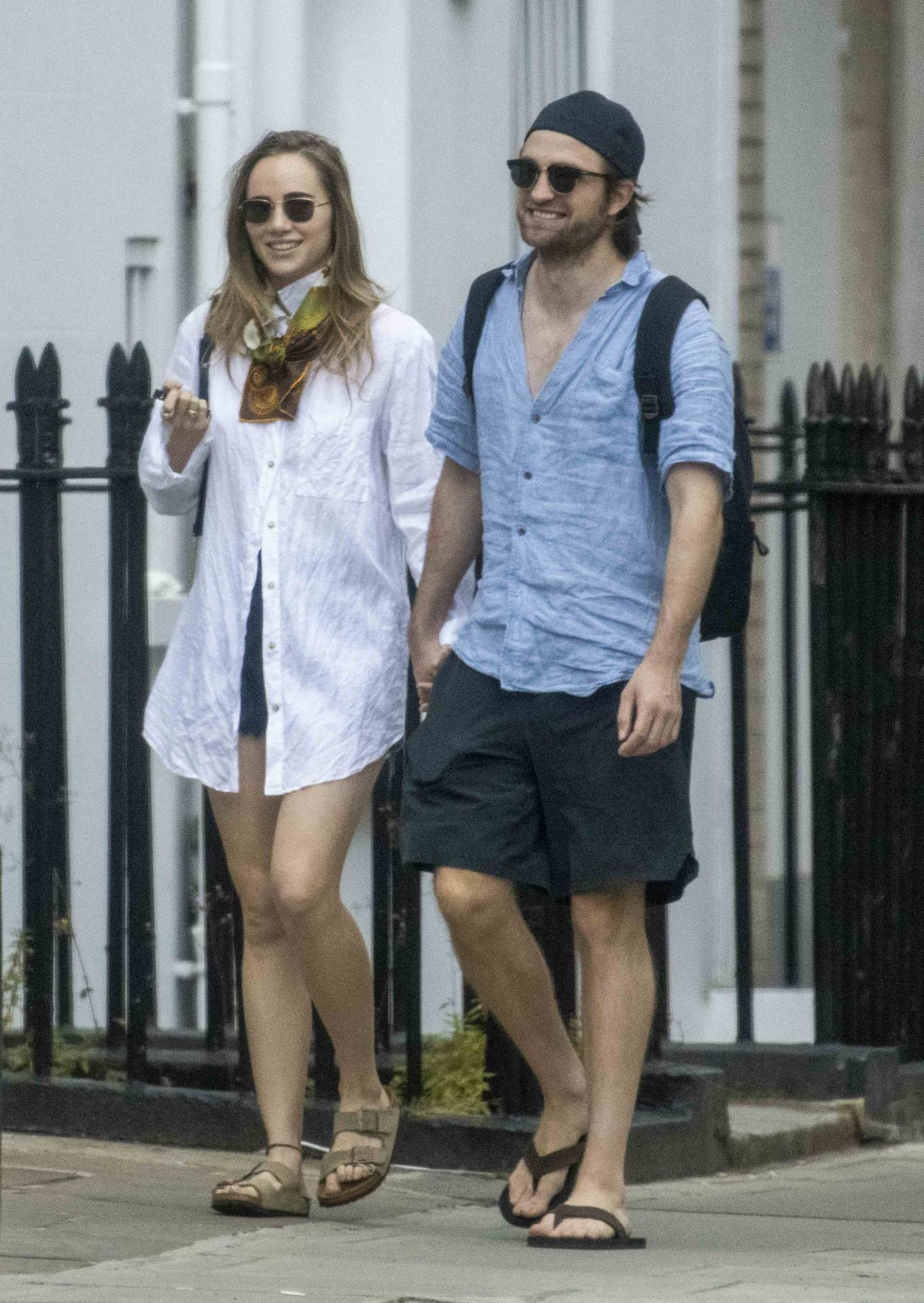 Suki Waterhouse 2020 : Suki Waterhouse and Robert Pattinson – Out in London-32