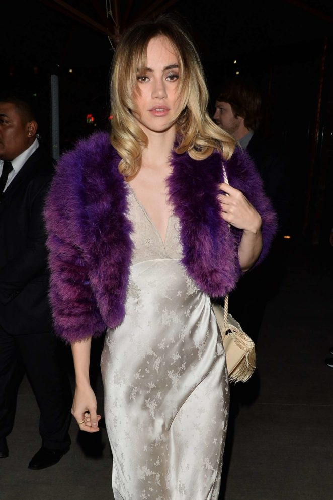 Suki Waterhouse - Arrives to a Charity Event in Hollywood