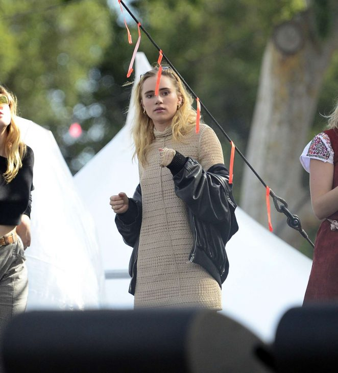 Suki Waterhouse at Gay Pride weekend -14