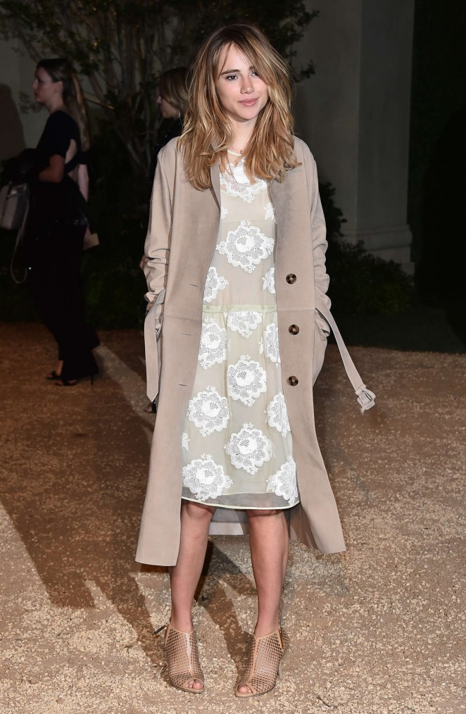 Suki Waterhouse - Burberry 'London in Los Angeles' Event in LA