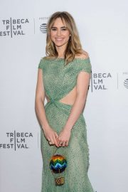 Suki Waterhouse - 'Charlie Says' Premiere at 2019 Tribeca Film Festival in NY