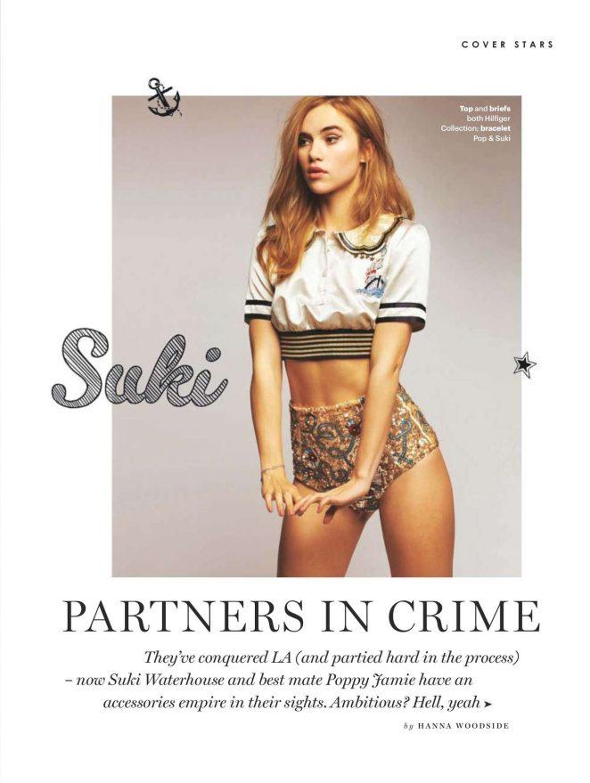 Suki Waterhouse - Glamour UK Magazine (December 2016)