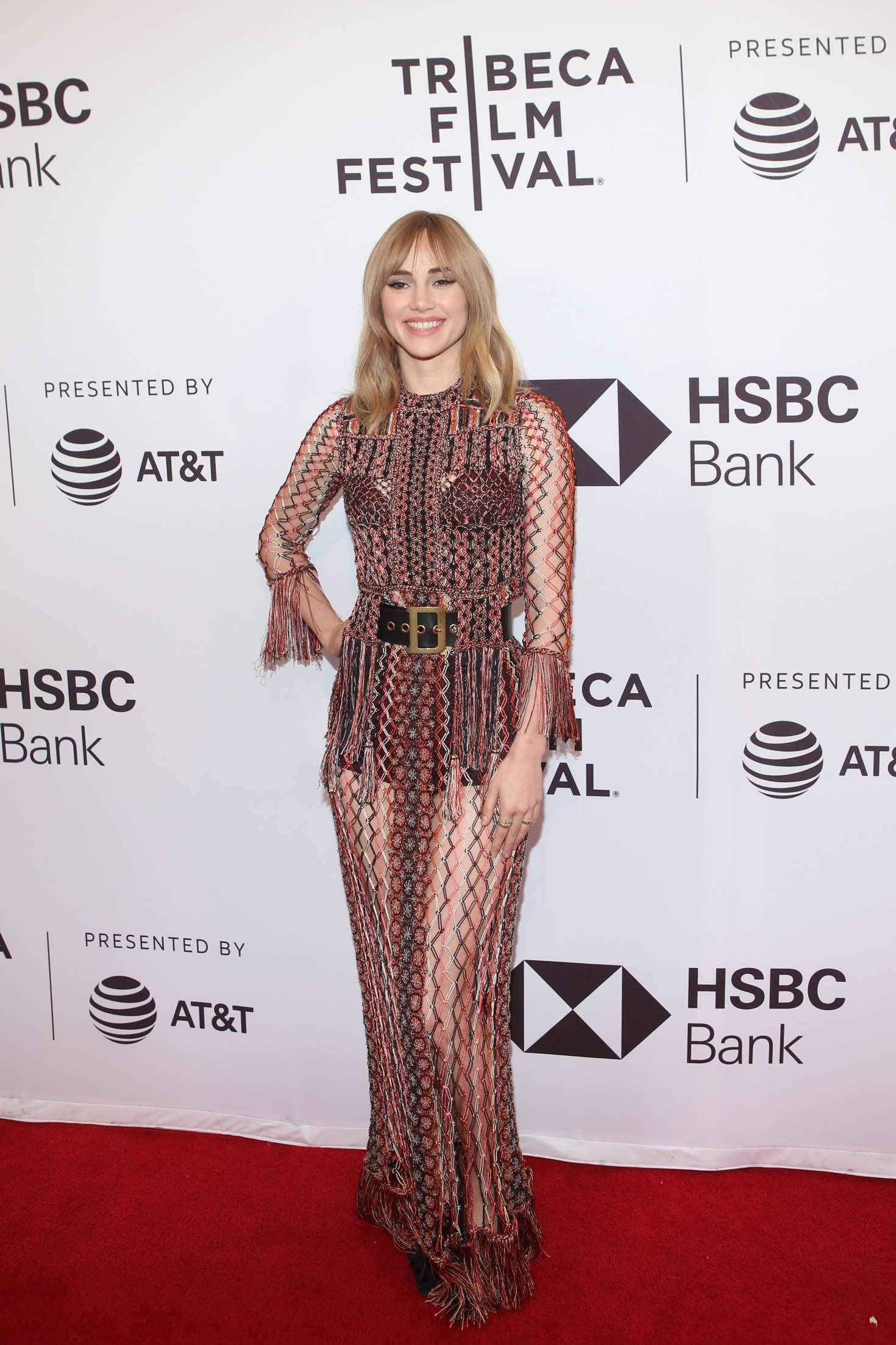 Suki Waterhouse: Jonathan Premiere at 2018 Tribeca Film