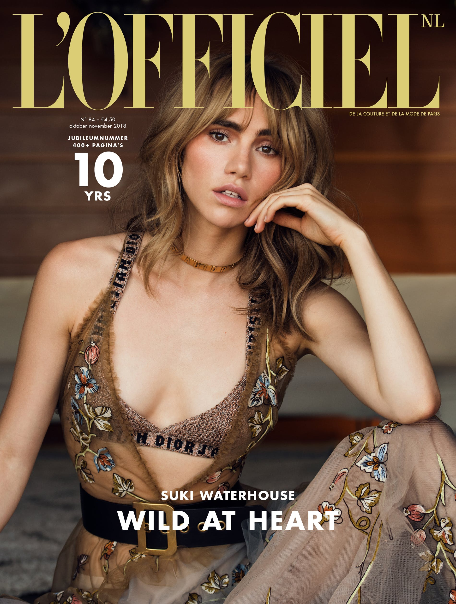 Suki Waterhouse - L'Officiel NL - Anniversary Issue 2018