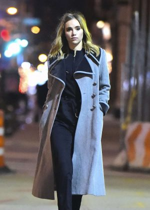 Suki Waterhouse - Late Night Photoshoot in New York