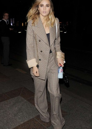 Suki Waterhouse - Leaves George V Hotel in Paris