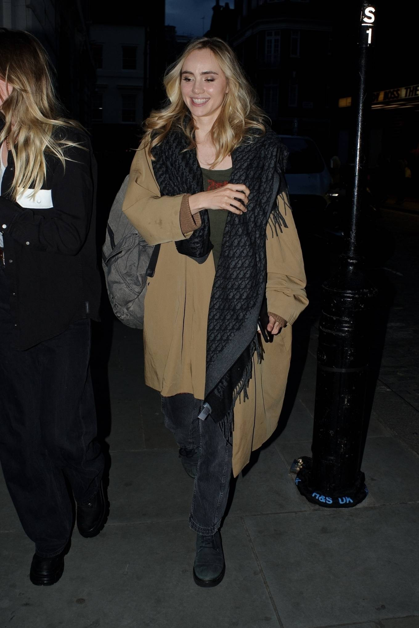Suki Waterhouse - leaves the Lady Boss premiere at Curzon Mayfair in London