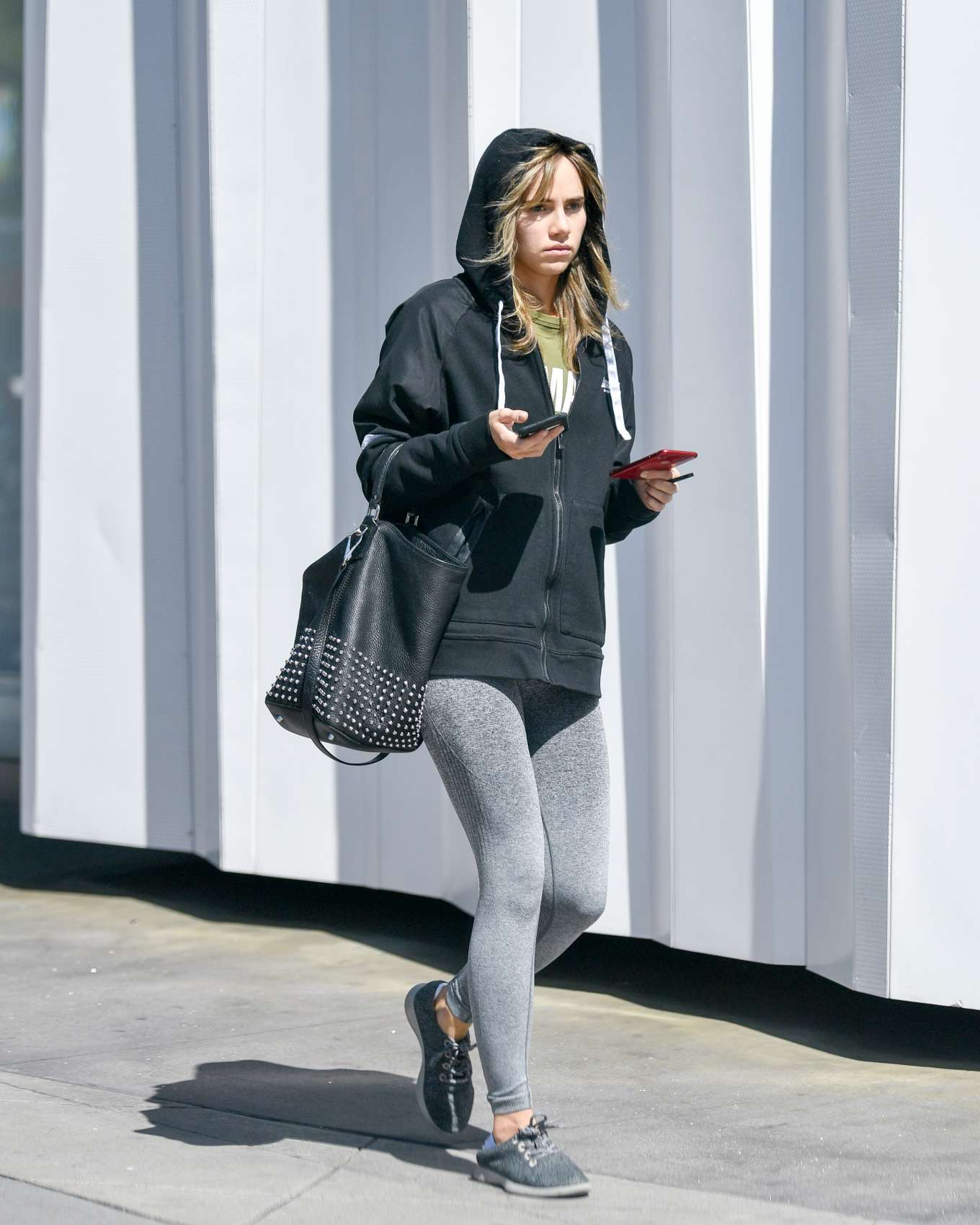 Suki Waterhouse 2019 : Suki Waterhouse: Leaving equinox fitness -01