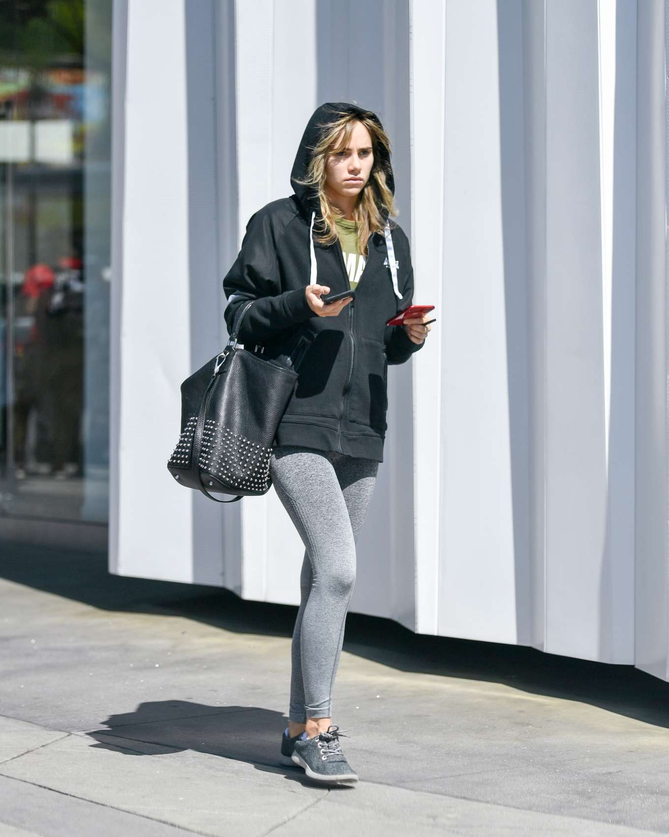 Suki Waterhouse 2019 : Suki Waterhouse: Leaving equinox fitness -10