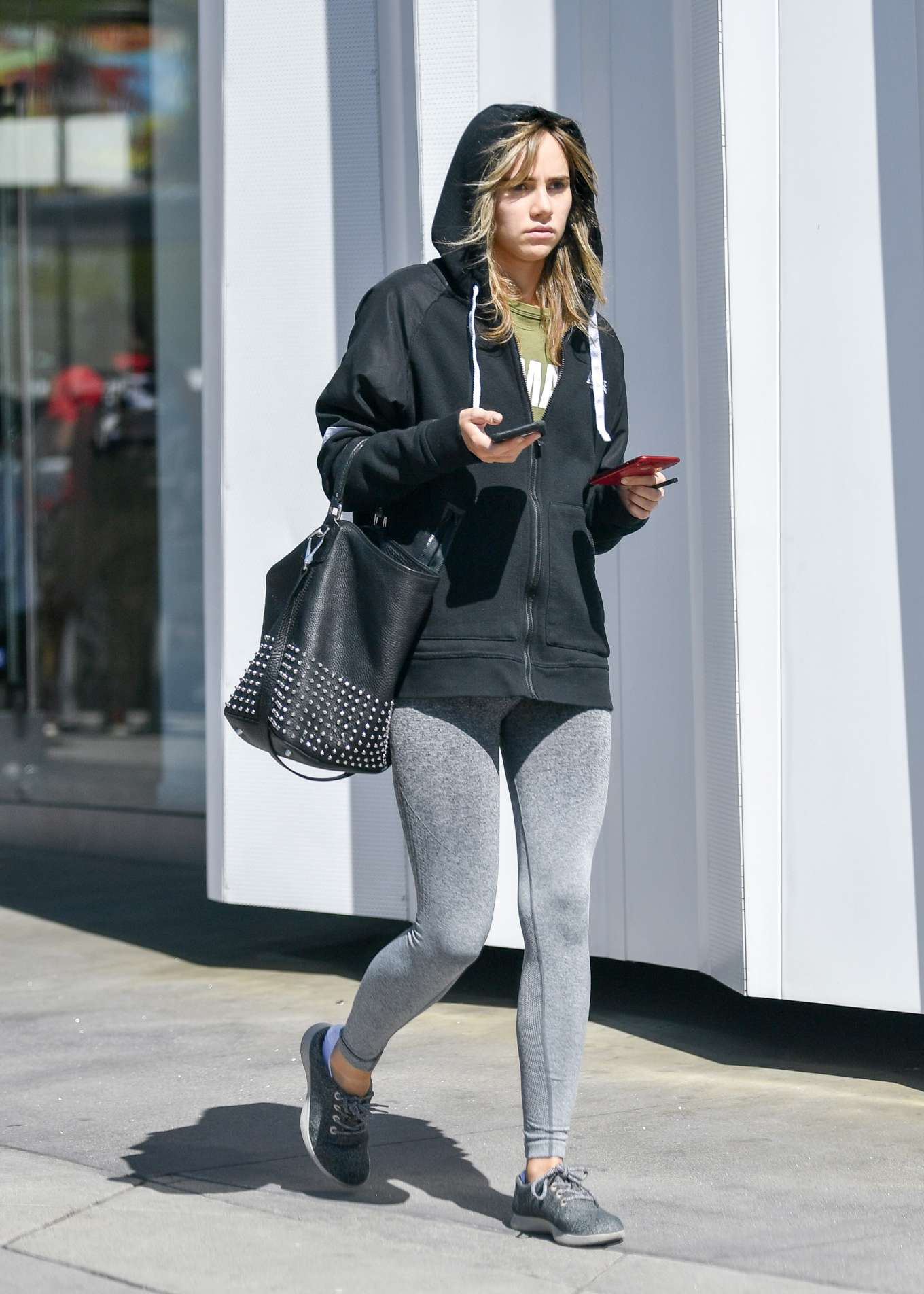 Suki Waterhouse 2019 : Suki Waterhouse: Leaving equinox fitness -13