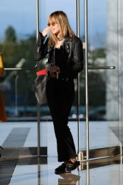 Suki Waterhouse - Leaving the CAA Offices in Los Angeles