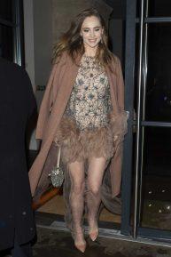 Suki Waterhouse - Leaving the 'Misbehaviour' Premiere in London