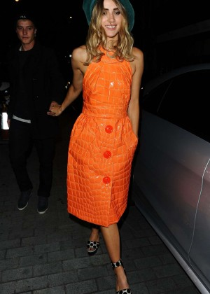 Suki Waterhouse - Love Magazine Party at Loulou's in London