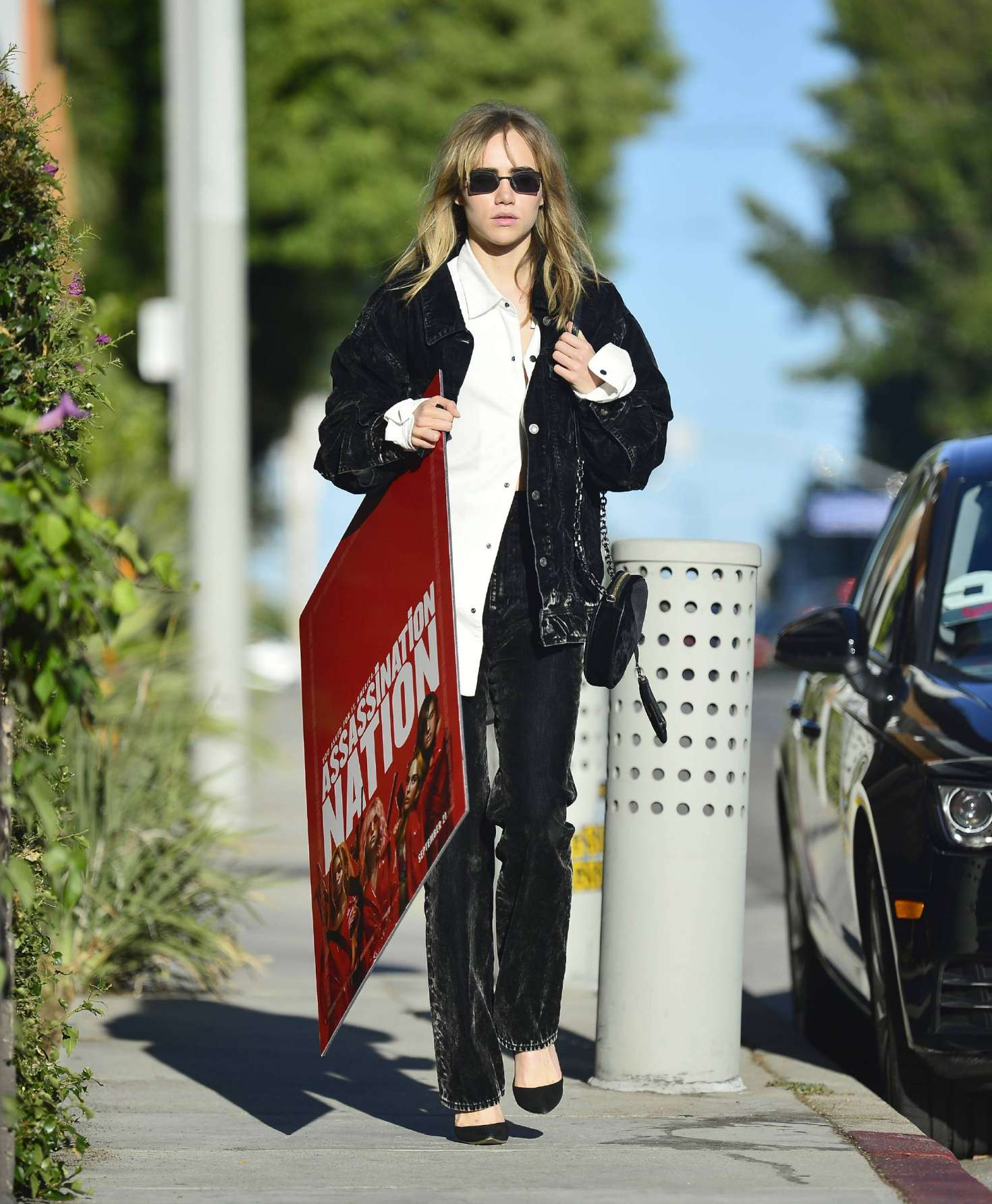 Suki Waterhouse 2018 : Suki Waterhouse: Out and about in Los Angeles -01