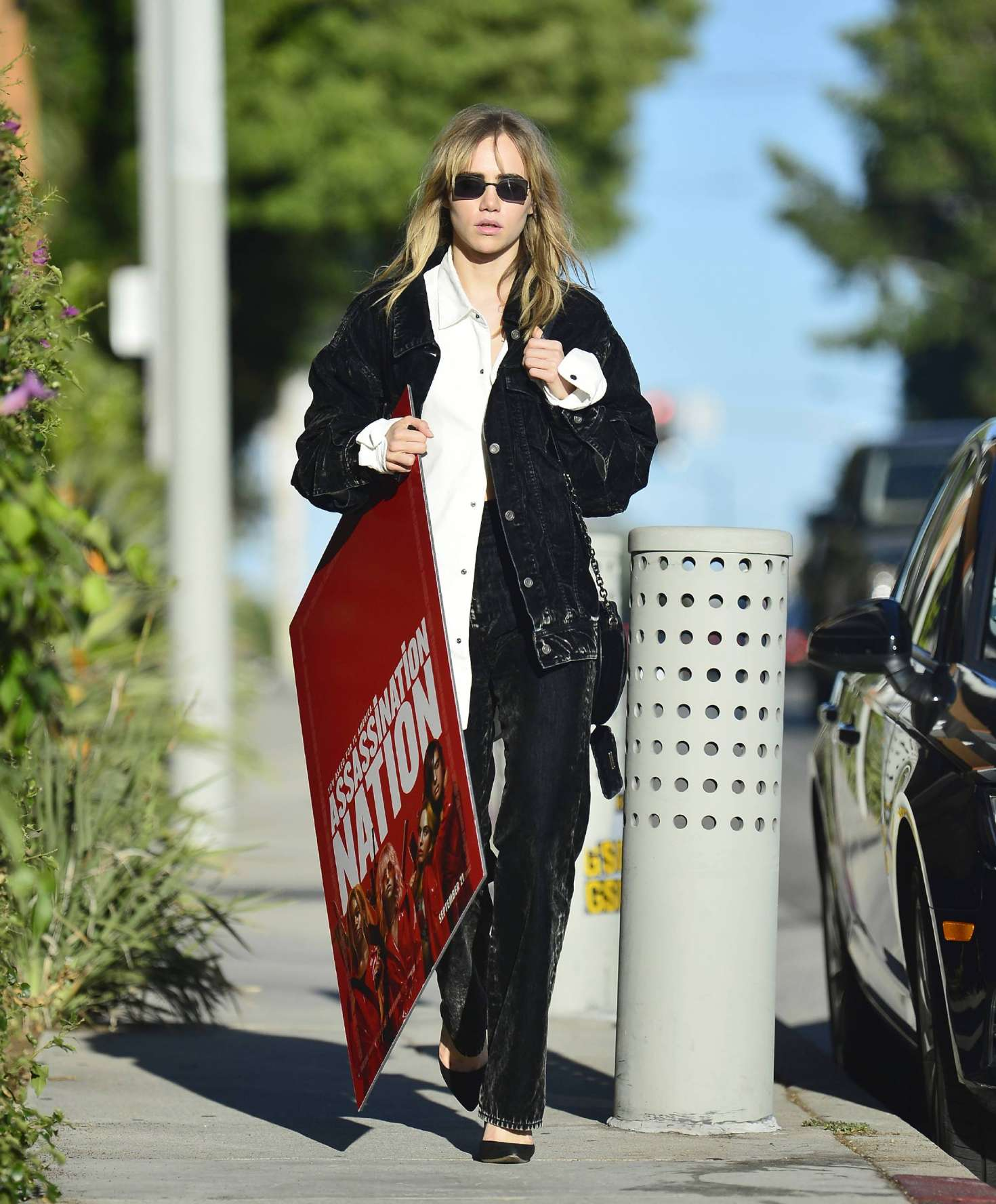Suki Waterhouse 2018 : Suki Waterhouse: Out and about in Los Angeles -04