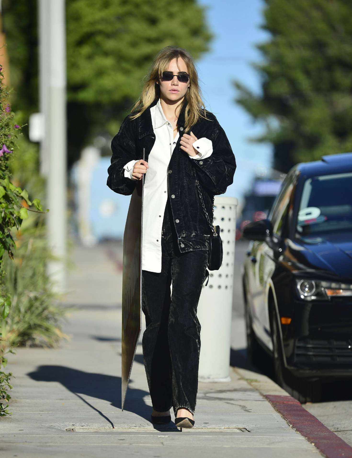 Suki Waterhouse 2018 : Suki Waterhouse: Out and about in Los Angeles -09