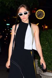 Suki Waterhouse - Out for an evening in NYC