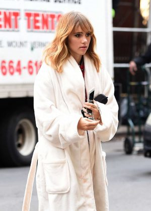 Suki Waterhouse Out in New York City