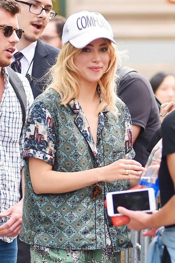 Suki Waterhouse Out in New York