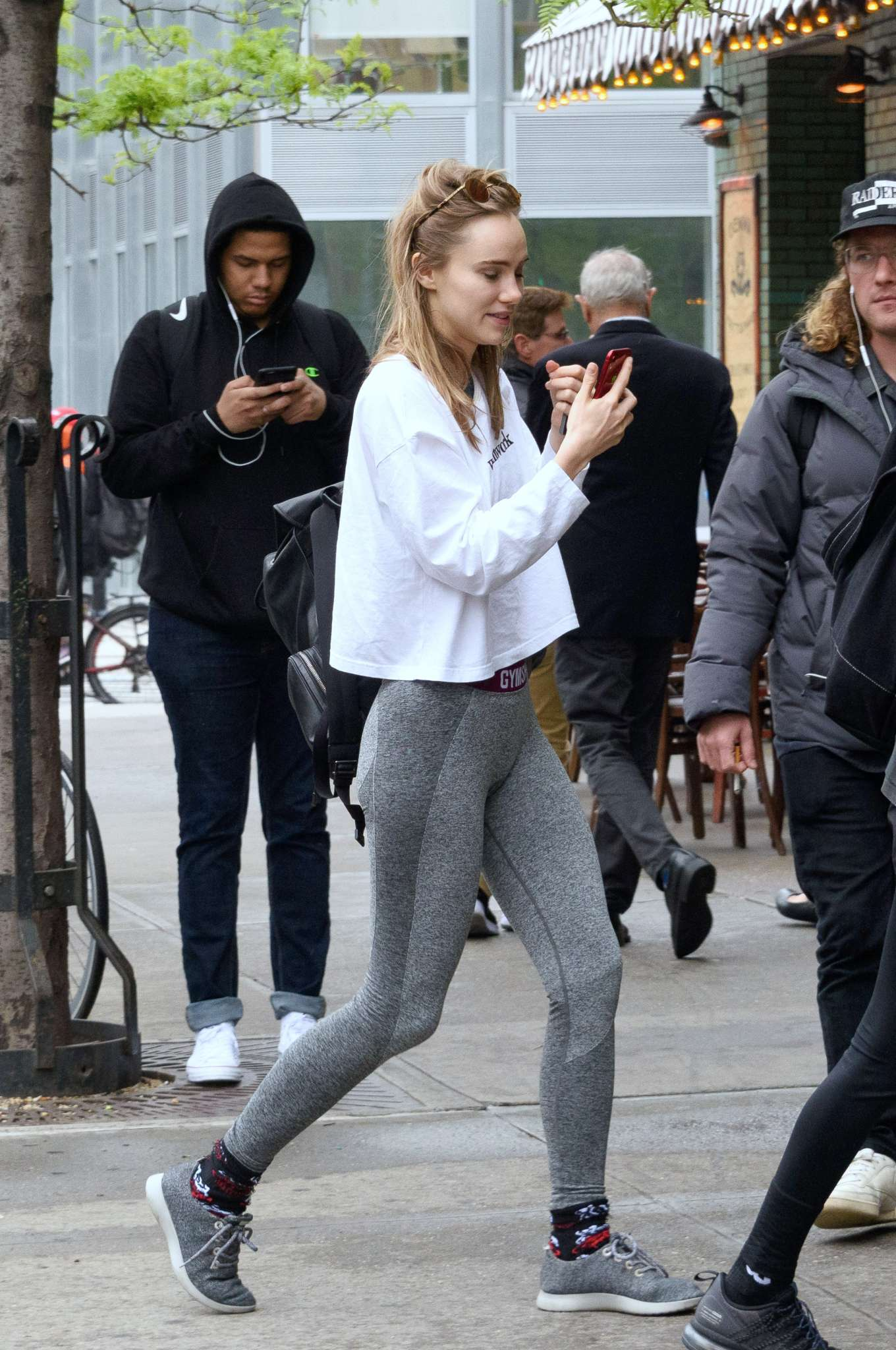 Suki Waterhouse - Out in NYC