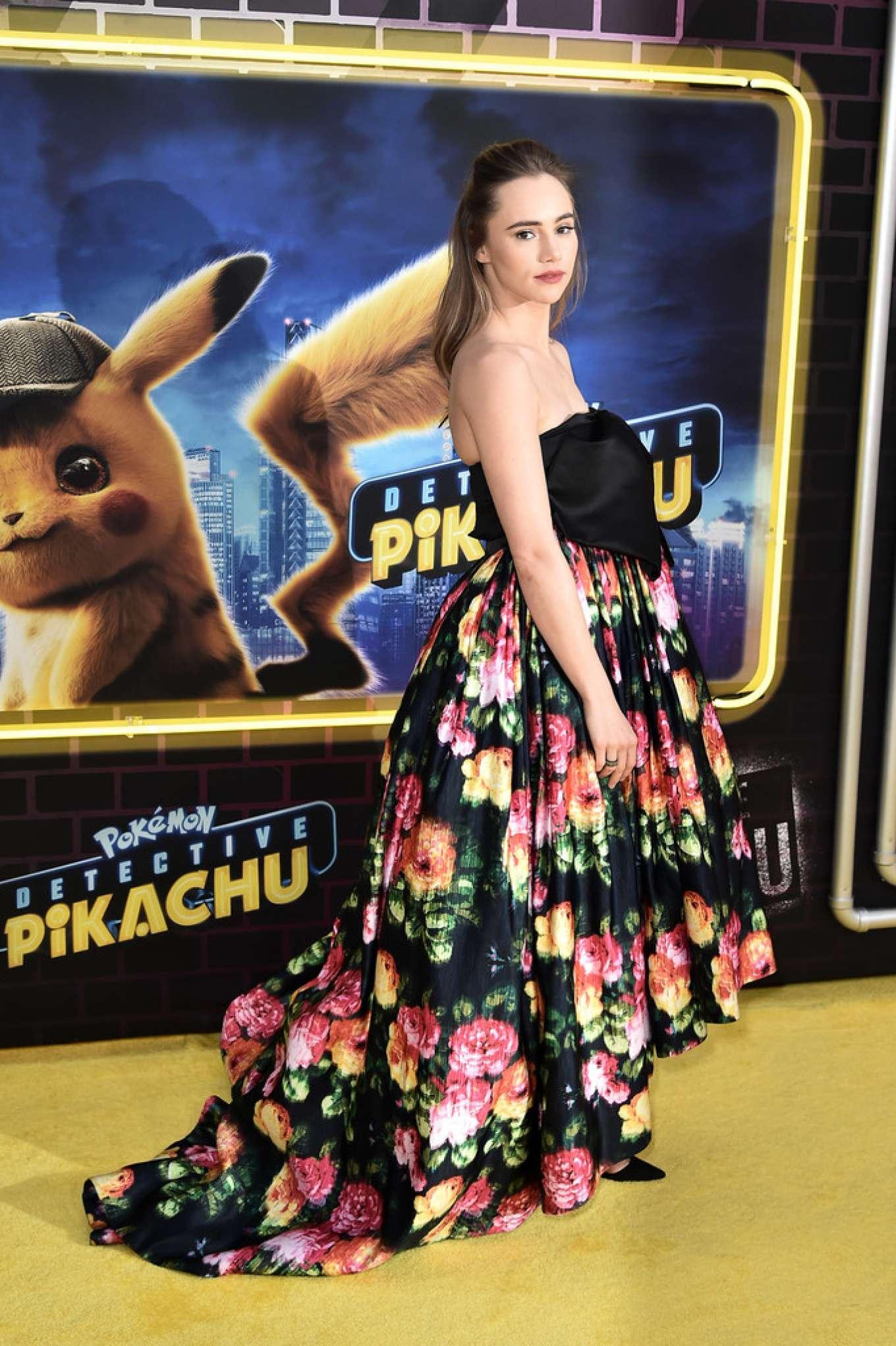 Suki Waterhouse 2019 : Suki Waterhouse: Pokemon Detective Pikachu US Premiere in NYC-03