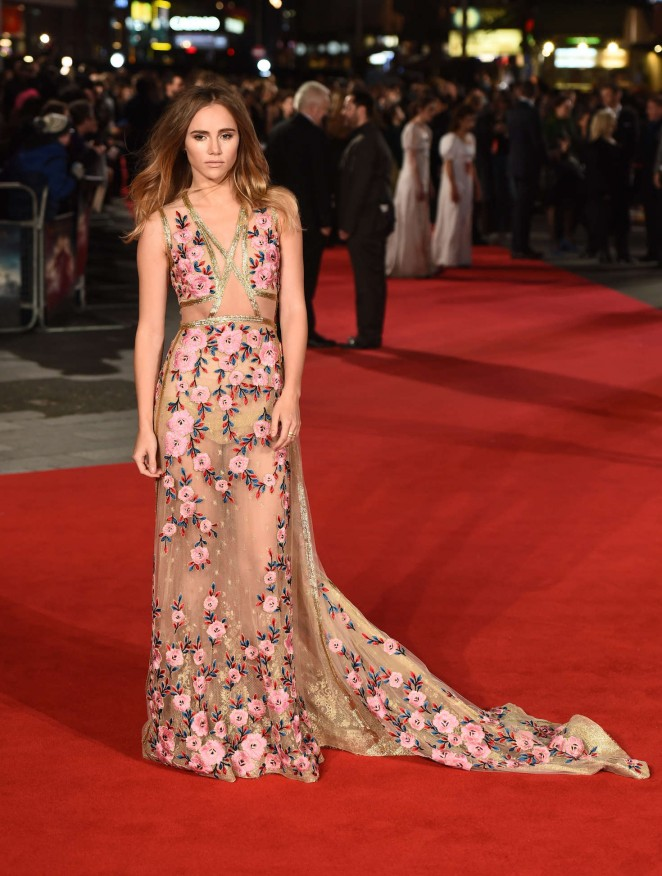 Suki Waterhouse: Pride and Prejudice and Zombies UK Premiere -09