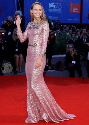 Suki Waterhouse - 'The Bad Batch' Premiere at 73rd Venice Film Festival in Venice