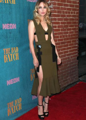 Suki Waterhouse - 'The Bad Batch' Premiere in Los Angeles