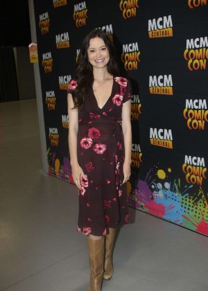 Summer Glau - Comic Con 2017 in Dublin