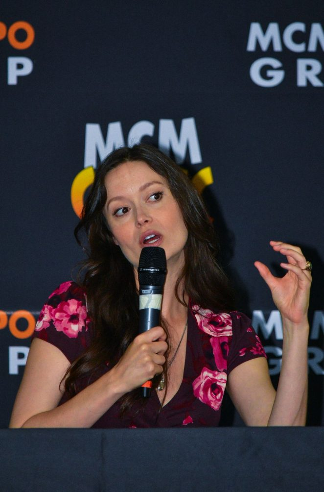 Summer Glau – MCM Comic Con in County Antrim in Northern Ireland