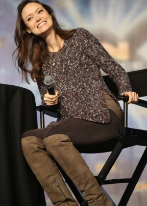 Summer Glau - Panel at Salt Lake Fan Experience