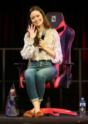 Summer Glau - Supanova Expo Sydney Showground in Sydney